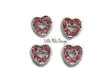 Collane e pendagli di bigiotteria rosa con cuore in cristallo