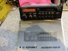 Autoradioo Blaupunkt Augsburg SQR 29, Cassette,4 LS-Anschlüsse z.B. für Oldtimer