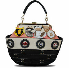 Novelty Noah's Ark ladies handbag / shoulder bag