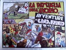 Avventure di Cino e Franco - Pattuglia avorio 1973 -  Anastatica Nerbini [C21C]