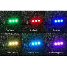2x RGB 5050 LED Lights Board 7 Color 5V w/DIP Switch for QAV250 F450 Quadcopter