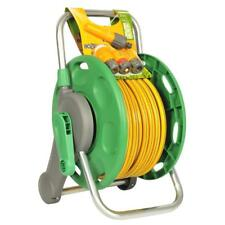 Hozelock 45m 2 in 1 Reel with 25m Garden Hose Pipe & Fittings Offer!