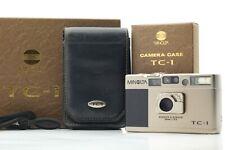 【 MINT+++ in BOX 】 Minolta TC-1 Point & Shoot 35mm Film Camera From Japan #204