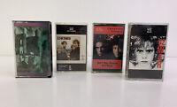 Lot of 4 - Vintage Cassette Tapes - U2, Milli Vanilli (Tested)