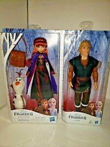 A25 Disney Frozen 2 Anna Olaf Kristiff Dolls