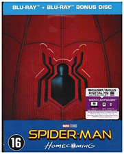 Spider-man - Homecoming (Steelbook) - (UK IMPORT) BLU-RAY NEW