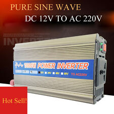 DC12V to AC220V Peak 1000W Pure Sine Wave Power Inverter