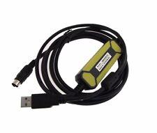 USB Programming Cable for Mitsubishi PLC melsec FX A series FX2 FX2C FX0 FX2N
