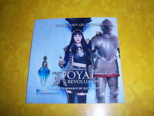 (5) unused KATY PERRY fragrance samples--KILLER QUEEN--collectible FASHION promo