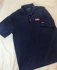 NIke  Dry Fit Ole Miss Golf Polo Shirt XL