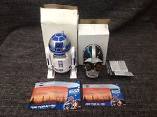 Star Wars R2D2 Clock & Projector and C3PO Voice Recorder - 1999 Pepsi Promotion