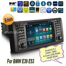 Android 8.1 BMW E53 E39 Autoradio X5 5er M5 DAB+ DVD TNT OBD Bluetooth GPS 3839F
