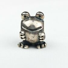 Authentic Pandora Frog Charm 925 Sterling Silver Discontinued
