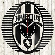 Juventus Vinyl Record Wall Clock Decor Handmade 3002