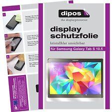 2x dipos Samsung Galaxy Tab S 10.5 Protector de Pantalla transparente