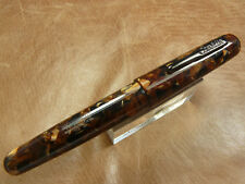 CONKLIN ALL AMERICAN FOUNTAIN PEN IN BROWNSTONE COLOR  OMNIFLEX NIB NEW IN BOX