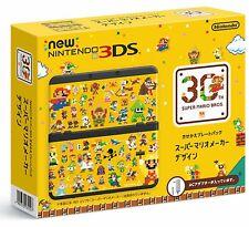 Nintendo 3DS Console Super Mario Faiseur Design Kisekae Plaque Paquet Nouveau