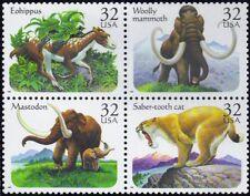RJames: US 3080a Prehistoric Animals, setenent , MNH, VF