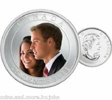 2011 CANADA COLORED COIN - WEDDING PRINCE WILLIAM & CATHERINE MIDDLETON