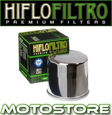 HIFLO CHROME OIL FILTER FITS KAWASAKI Z1000 A1 A2 A3 A6F ZR1000 2003-2006
