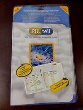 Pill Tell Safe Easy Medication Management System Multiple Medications Organizer