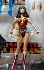 New Dc Direct Infinite Crisis Action Figure Box Set Wonder Woman Loose Figure