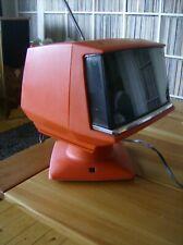 1970er SHARP vintage TV 5P 12 S Japan rot/red space age DESIGN Television. TOP