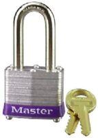 """Master Lock, 3DLF, 1-1/2"""", Laminated Padlock, With 1-1/2"""" Long Shackle"""