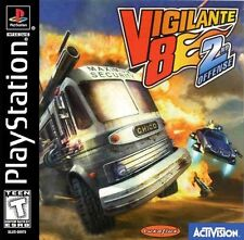 Vigilante 8 Second Offense PS1 Great Condition Complete Fast Shipping