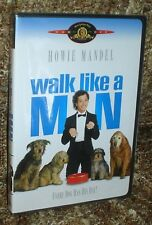 WALK LIKE A MAN DVD, NEW AND SEALED, VERY RARE AND OUT OF PRINT, HOWIE MANDEL