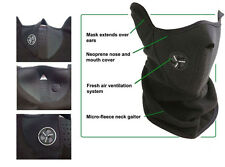 ADJUSTABLE NEOPRENE FACE MASK WINTER NECK WARMER SNOWBOARD MOTORCYCLE PROTECTION