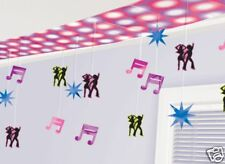 12ft 1970's Disco Dancers Party Foil Ceiling Decoration