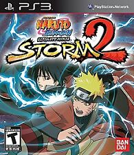 PS3 Naruto Shippuden: Ultimate Ninja Storm 2 (Sony PlayStation 3, 2010)