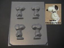 SNOOPY 3D Peanuts Beagle Chocolate Soap Crayon Candy Lollipop Mold