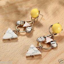 Wholesale 1pair Multi-color Crystal Rhinestone Long Ear Stud Hoop earrings 145