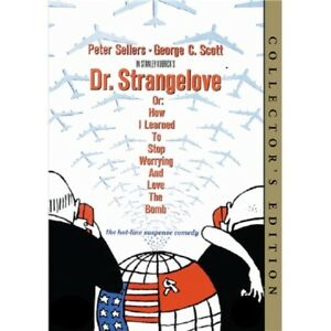 Dr. Strangelove Collector's Edition (Peter Sellers) Doctor Dr Region 4 New DVD