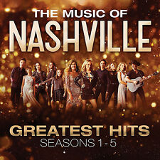 The Music of Nashville Greatest Hits Seasons 1 - 5 CD 2017