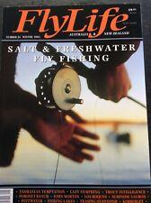 FlyLife Australia & New Zealand Number 24 Winter 2001 Magazine