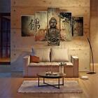 Huge Buddha Abstract Canvas Art Oil Painting Modern Home Wall Decor Set No Frame