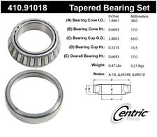Wheel Bearing and Race Set-Premium Bearings Centric 410.91018