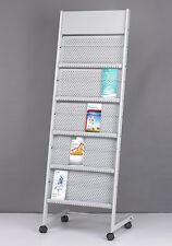 greeting card brochure display rack stand magazine holder (#1205)