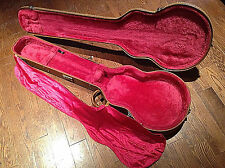 Rare 1990's Gibson USA Les Paul Electric Bass Or Baritone Hard Shell Guitar Case