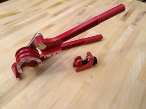 BRAKE FUEL PIPE KIT 3 IN 1 180° Tube Pipe Bender 6/8/10mm & Mini Tube Cutter