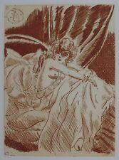 COLETTE / DIGNIMONT — Envoi — L'Ingénue libertine — 1928 — Suite sanguine