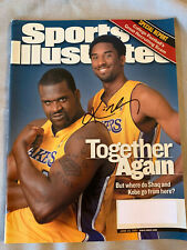 "KOBE BRYANT AUTOGRAPHS SPORTS ILLUSTRATED 2001 ""TOGETHER SHAQ"" IN PERSON SIGNED"