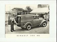 ORIGINALE RENAULT 300 kg STAMPA FOTO-opuscolo correlati