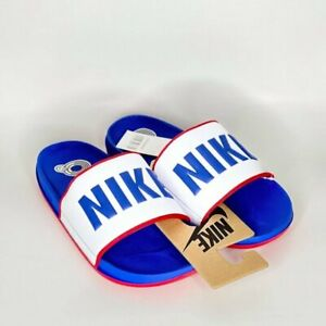 Nike Offcourt Men's Slide BQ4639-404 Game Royal Blue / White / University Red