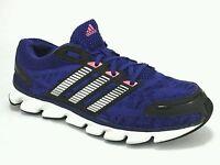 ADIDAS  Womens Running Walking Shoes Sneakers Blue Black US 7 M UK 5.5 EU 38 2/3