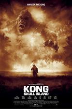 "Kong Skull Island "" AWAKEN THE KING "" ALT LOCANDINA FILM DI KARL FITZGERALD NO"