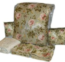 Ralph Lauren YORKSHIRE ROSE FLORAL GREEN 6P King Comforter Set NEW Pink